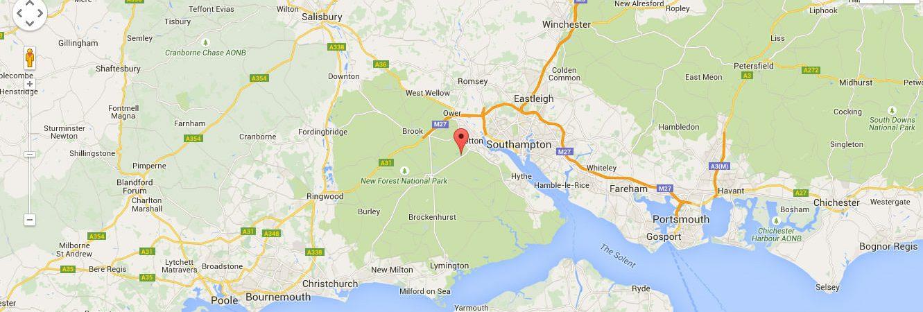 Southampton-map